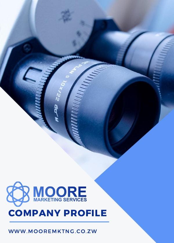 Moore Marketing Website Screenshot