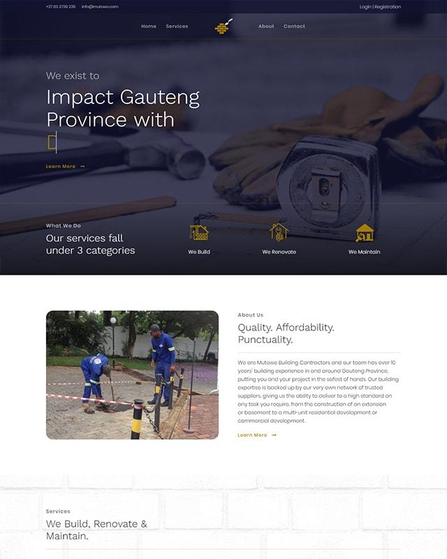 Mutowo Construction Screenshot